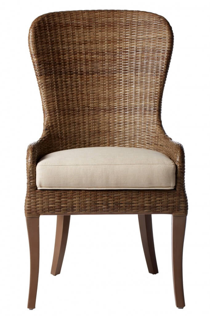 Wicker Frames Are Most Commonly Found On Dining Chairs Meant For Patio Use But The