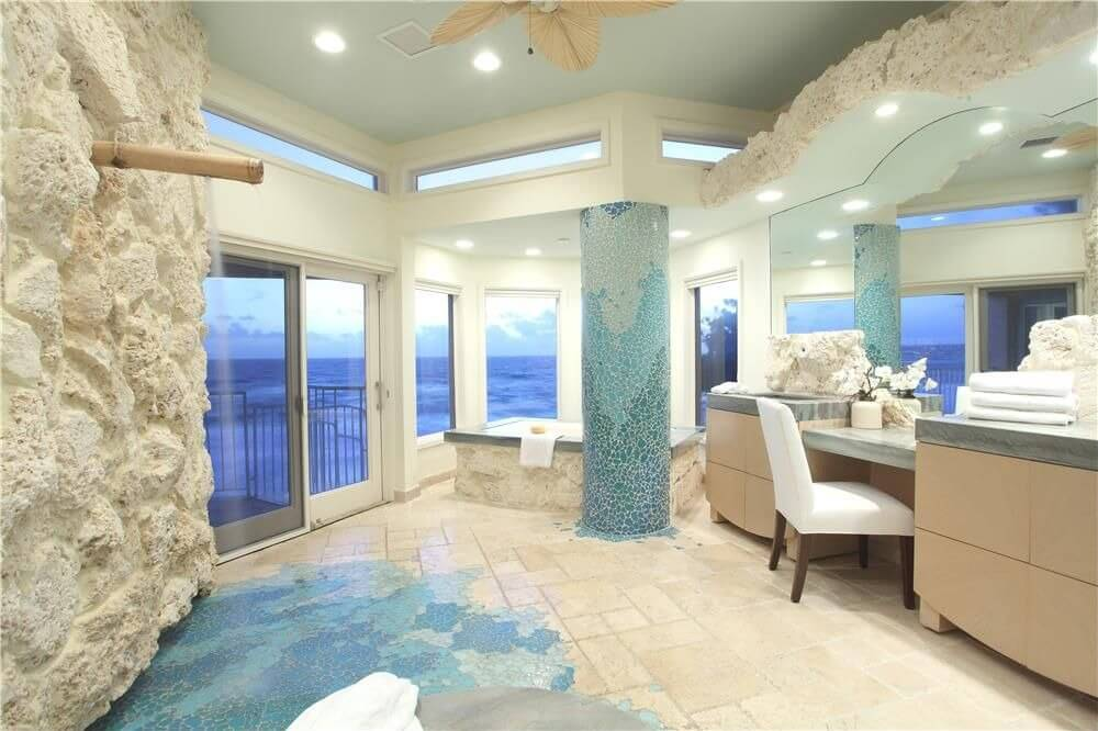 Master Bathroom Ideas Blue : Cool blue master bathroom designs and ideas pictures