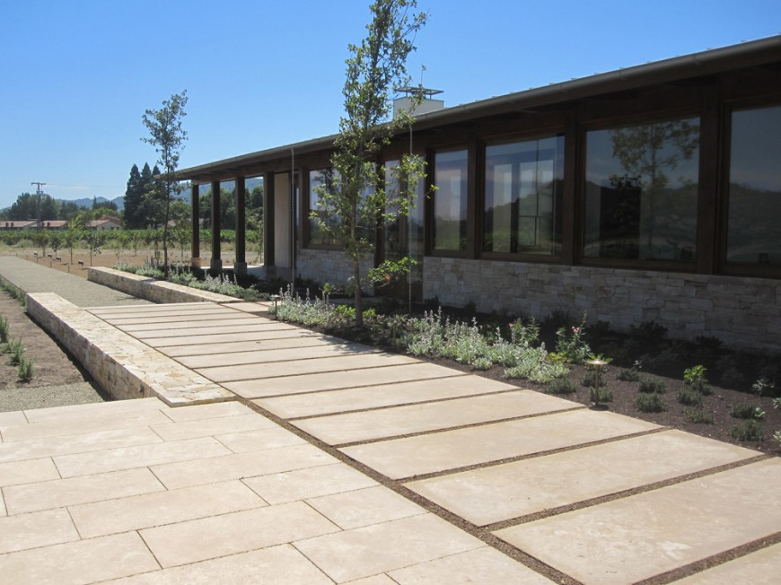 Coeur d'Alene Dark Oversized Paving featured home in Napa, California.