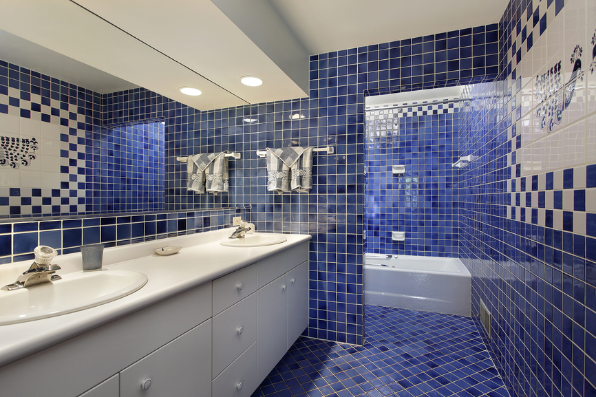 Bathroom Tile Ideas Blue And White 27 cool blue master bathroom designs and ideas (pictures) | home