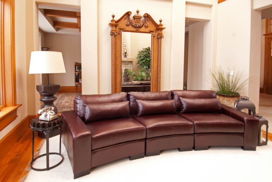 25 Contemporary Curved and Round Sectional Sofas