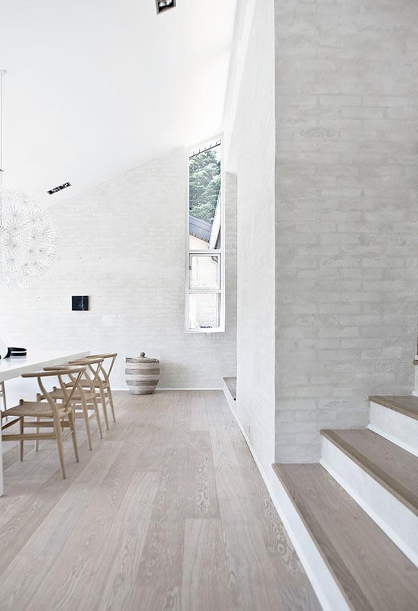 White Modern Minimalist Scandinavian Interior Design By Norm