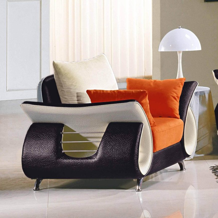 this chair is an example of the more extreme end of contemporary design with a - Living Room Chair Styles
