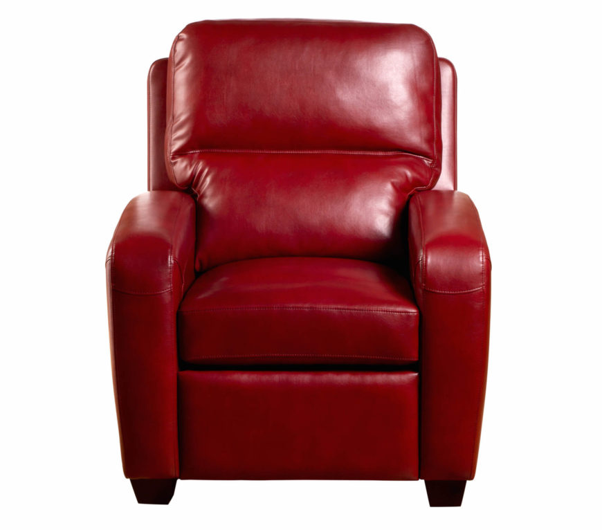 Our first recliner stands in the classic club chair shape when fully upright. Red leather .  sc 1 st  Home Stratosphere & 20 Top Stylish and Comfortable Living Room Chairs islam-shia.org