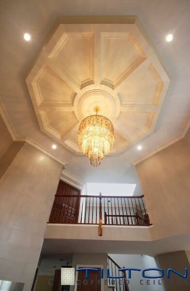 Coffered Ceiling Foyer : Gorgeous rooms with custom coffered ceilings by