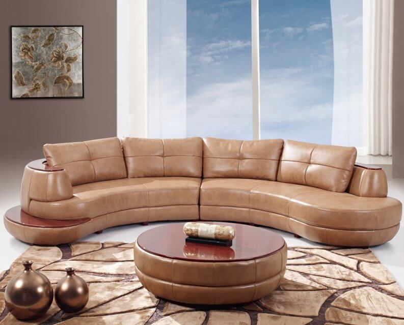 Living Room Sets Raleigh Nc 25 contemporary curved and round sectional sofas | home stratosphere