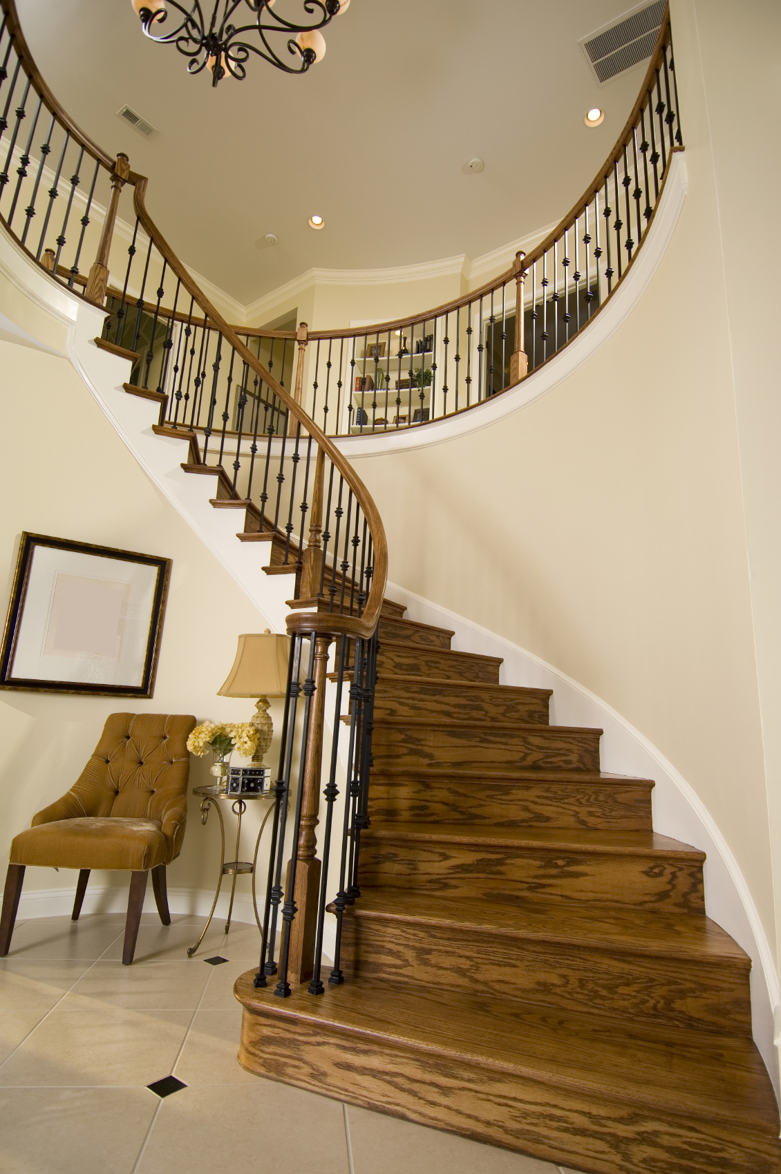 Stairs In Foyer : Beautiful entrance hall designs and ideas pictures