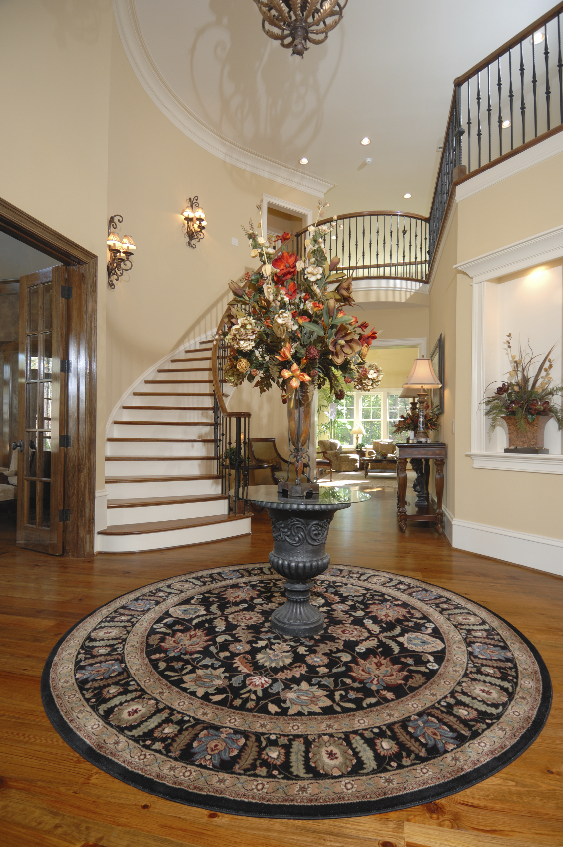 Open Foyer Designs : Beautiful entrance hall designs and ideas pictures