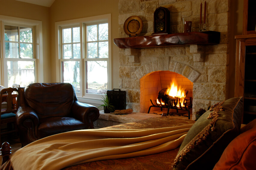 Simple Impressive Master Bedrooms With Fireplaces Photo Gallery With  Fireplaces With Stone Surrounding.