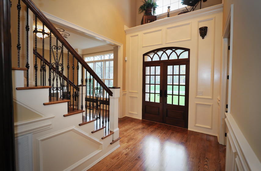 Large Foyer Window Replacement : Beautiful entrance hall designs and ideas pictures