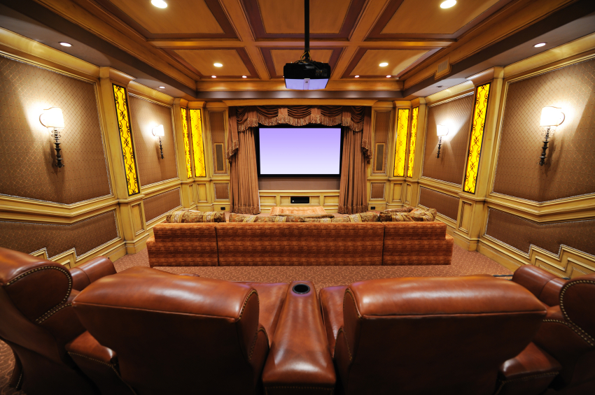 32 luxury home media room design ideas incredible pictures for Luxury home theater rooms