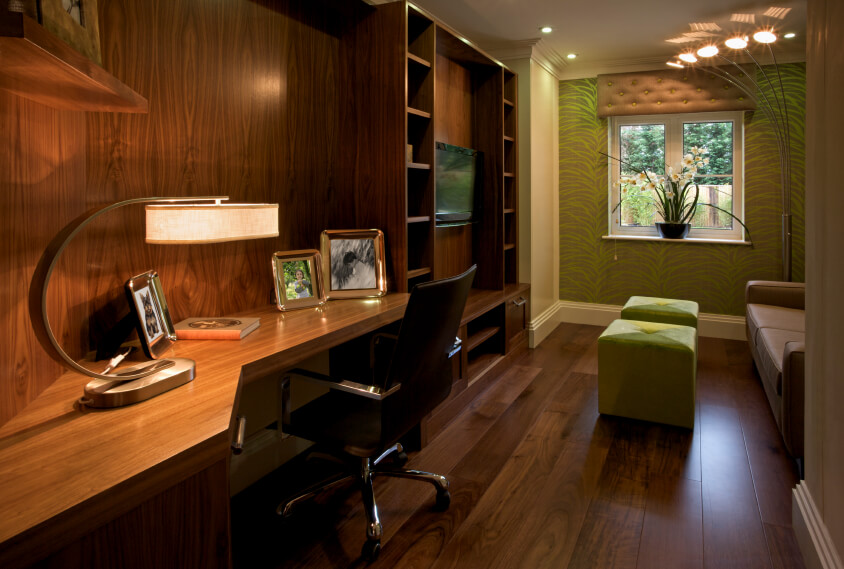 26 pictures of home office study designs Built in home office designs