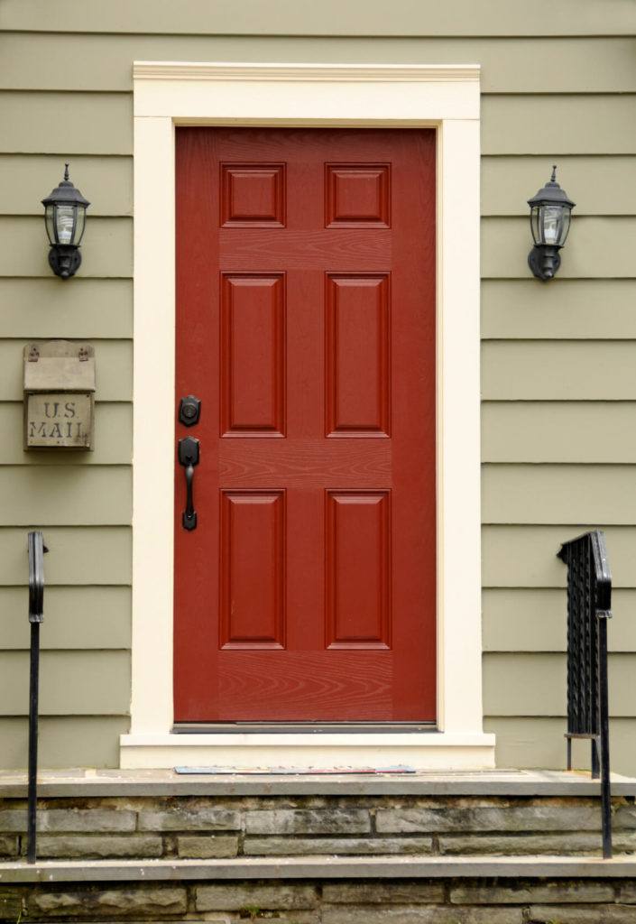 35 different red front doors many designs pictures for Doors for front door