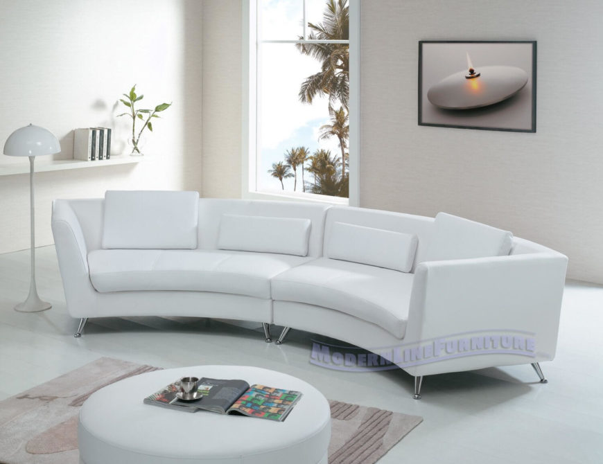 White Modern Couches