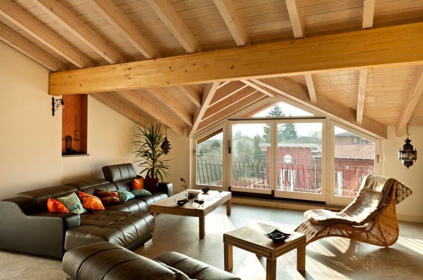 21 attic living room family room tv room ideas for Purpose of a living room