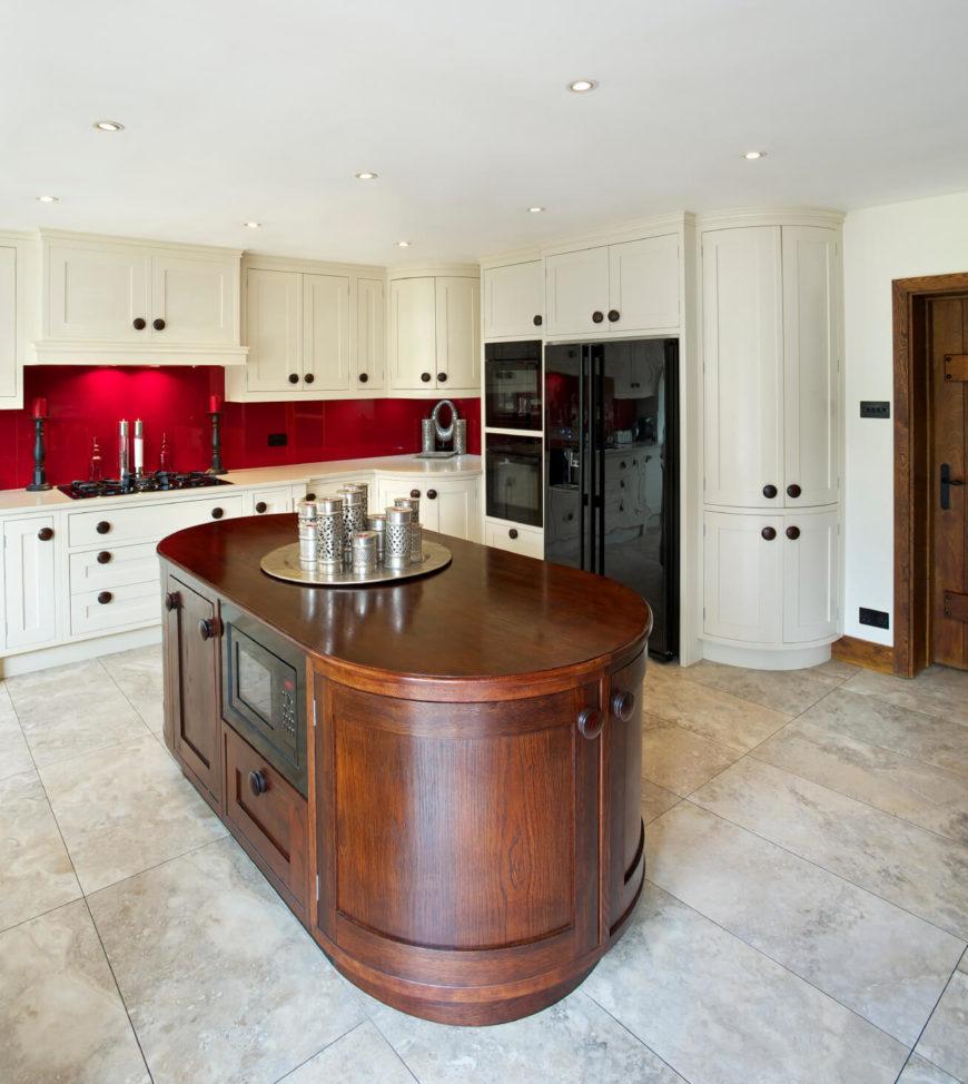 Large Floor Tiles For Kitchen 40 Striking Tile Kitchen Backsplash Ideas Pictures