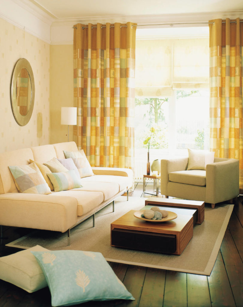 50 beautiful small living room ideas and designs pictures for Yellow modern living room ideas