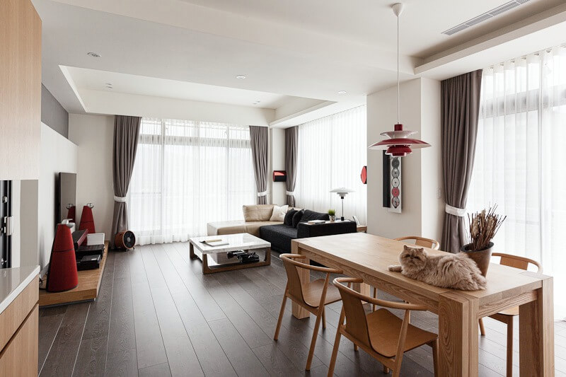 pact and Cozy Taipei Hpe Huang Home by PartiDesign