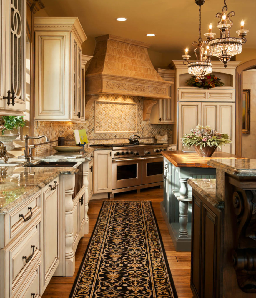 Country Cabinets For Kitchen: 46 Fabulous Country Kitchen Designs & Ideas