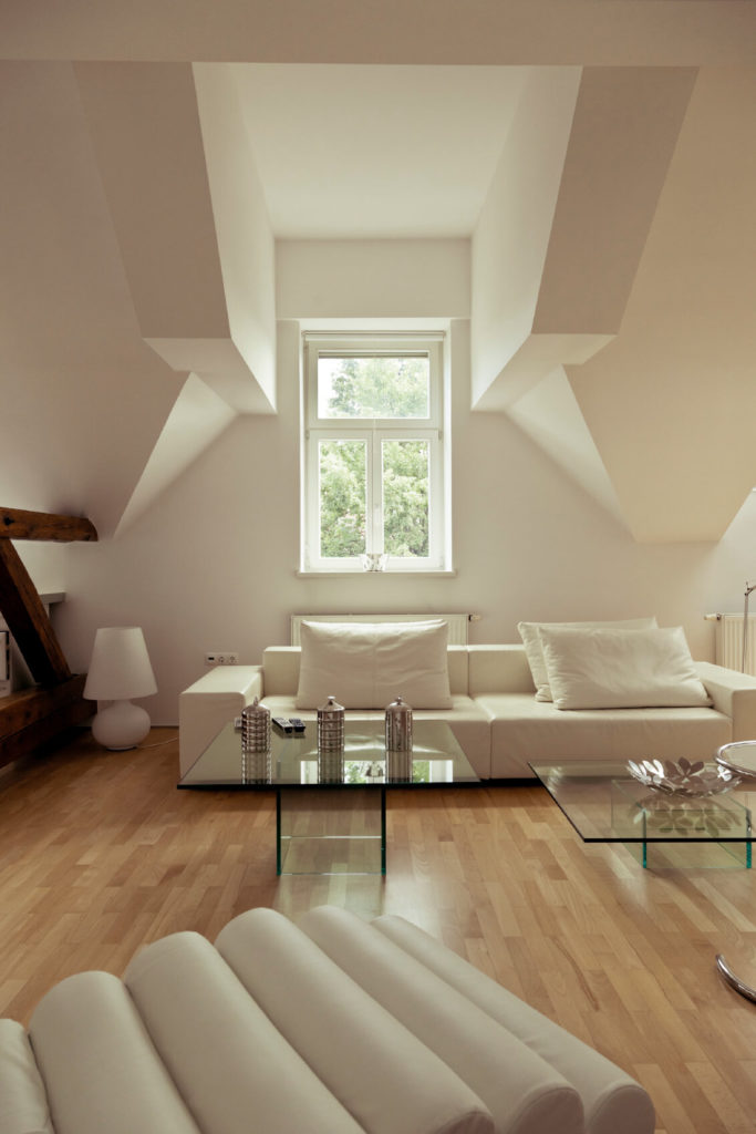 lofty design decorating ideas for living rooms. Attics are known for having somewhat awkward shaped ceilings  and this one is no exception 21 Attic Living Room Family TV Ideas