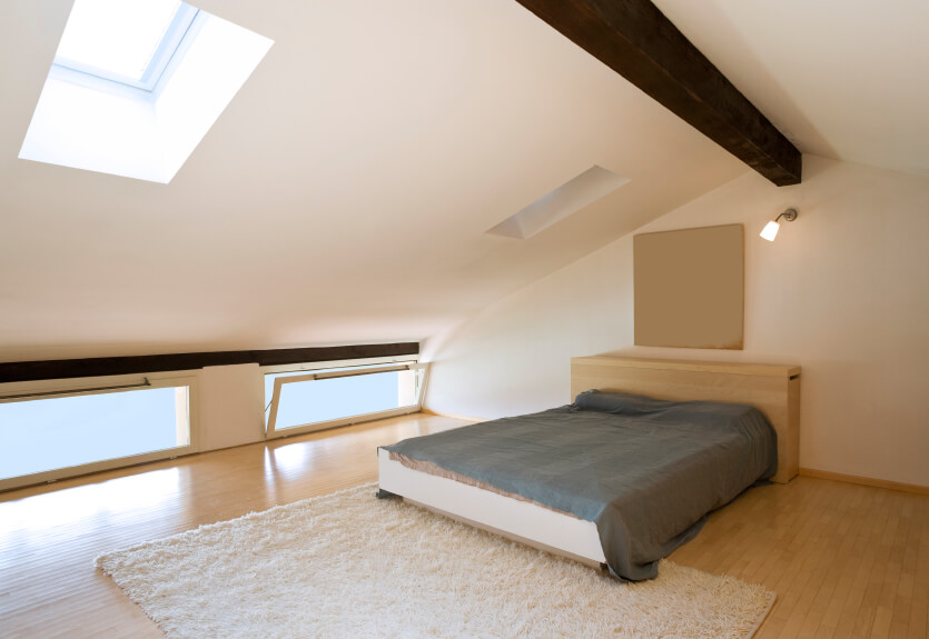 narrow attic bedroom ideas - 31 Attic Bedroom Ideas and Designs