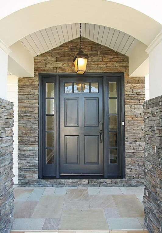 21 Cool Blue Front Doors for Residential Homes Front Entrance House Design Stones on front entrance way designs, stone garage designs, stone bedroom designs, stone deck designs, front door entrance designs, stone yard designs, deck entrance designs, stone interior designs, stone wall designs, rock entrance designs, stone pond designs, stone garden designs, front step designs, driveway entrance designs, neighborhood entrance designs, front entry designs, brick entrance designs, entrance landscape designs, stone patio designs, subdivision entrance designs,