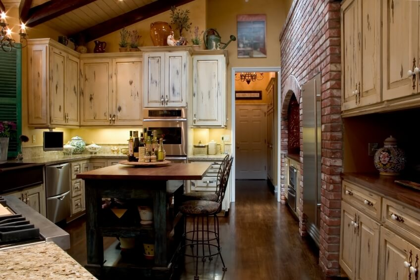 46 fabulous country kitchen designs ideas - Rustic Style Kitchen Designs