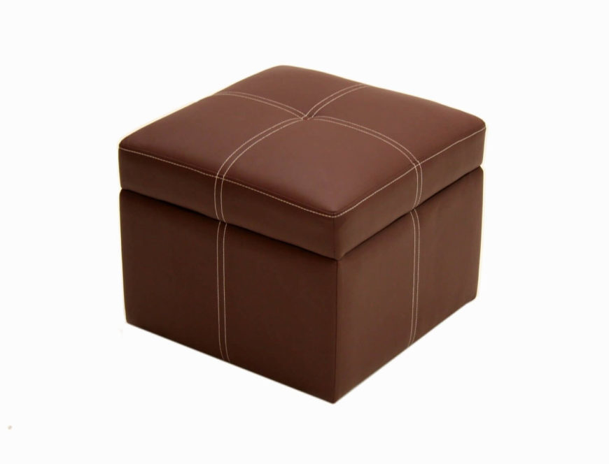 21 brown ottomans under 100 square rectangle round styles. Black Bedroom Furniture Sets. Home Design Ideas