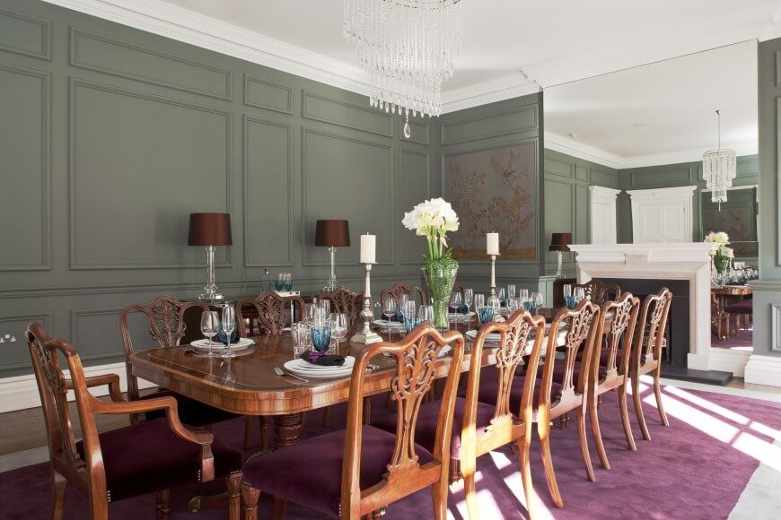 25 Elegant Dining Room Designs By Top Interior Designers Home Stratosphere