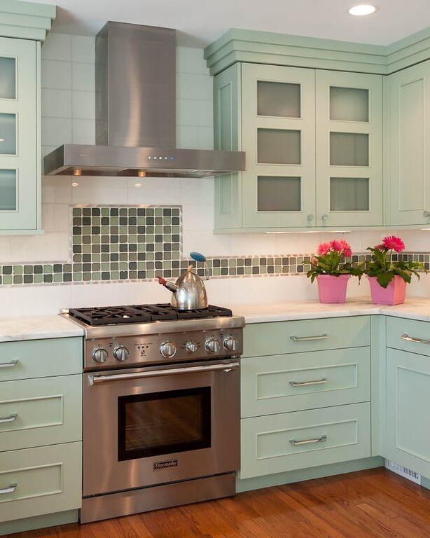 40 Striking Tile Kitchen Backsplash Ideas Pictures