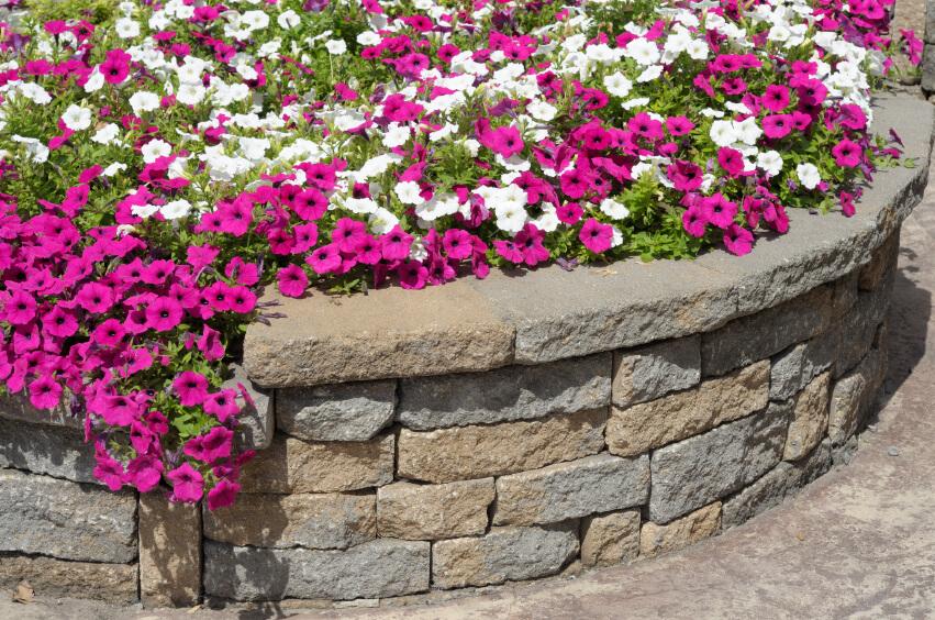 27 backyard retaining wall ideas and terraced gardens for Curved garden wall ideas