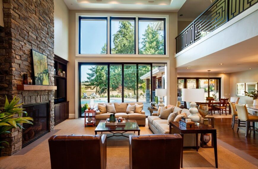 36 Extravagant Living Rooms by Top Interior Designers : 96Garrison Hullinger StoneHenge Living Room 870x570 from www.homestratosphere.com size 870 x 570 jpeg 112kB