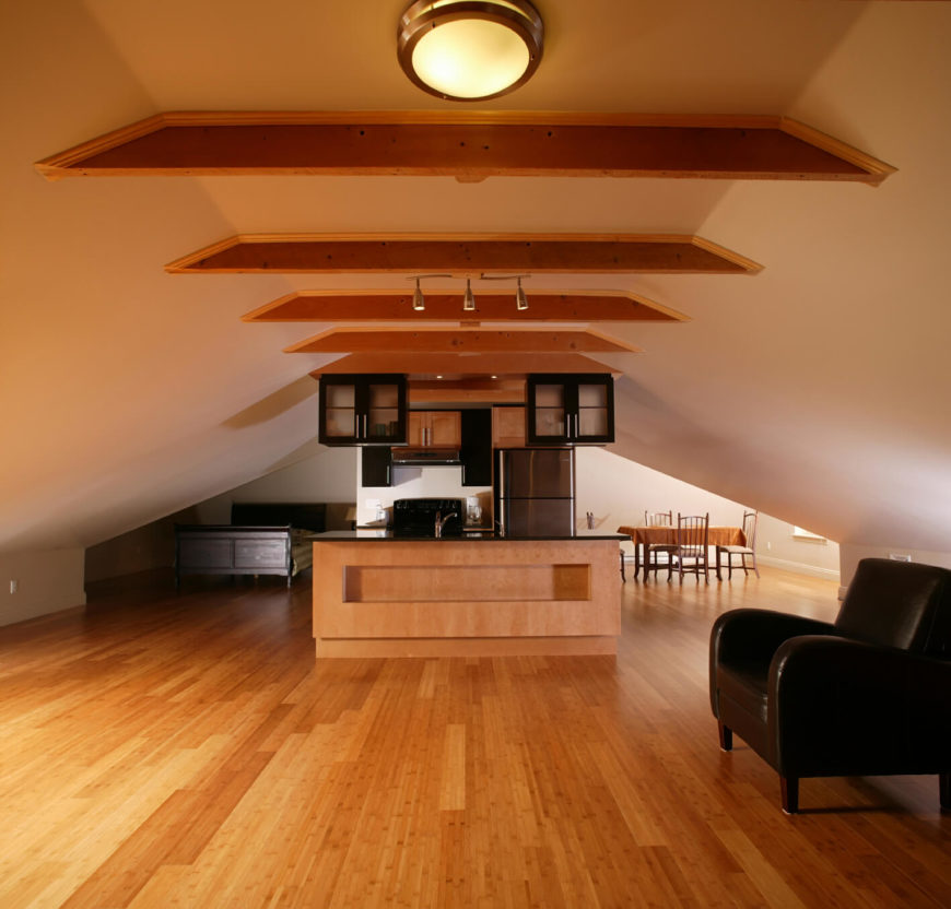 Attic Design Ideas small attic apartment ideas large window Create A Full Attic Apartment