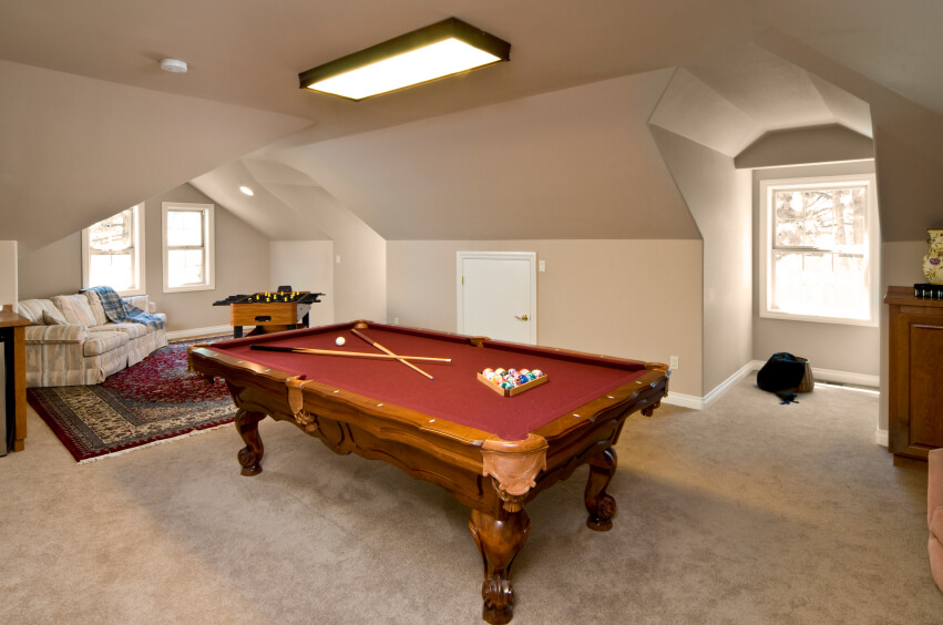 18 attic rooms designs and space ideas for Pool room design uk