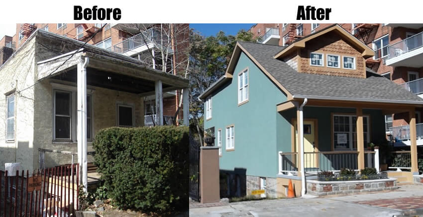 Before and After Home Reno Pictures