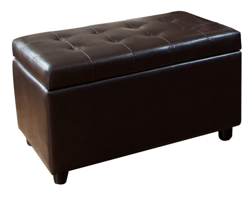 21 Brown Ottomans Under 100 Square RectangleRound Styles