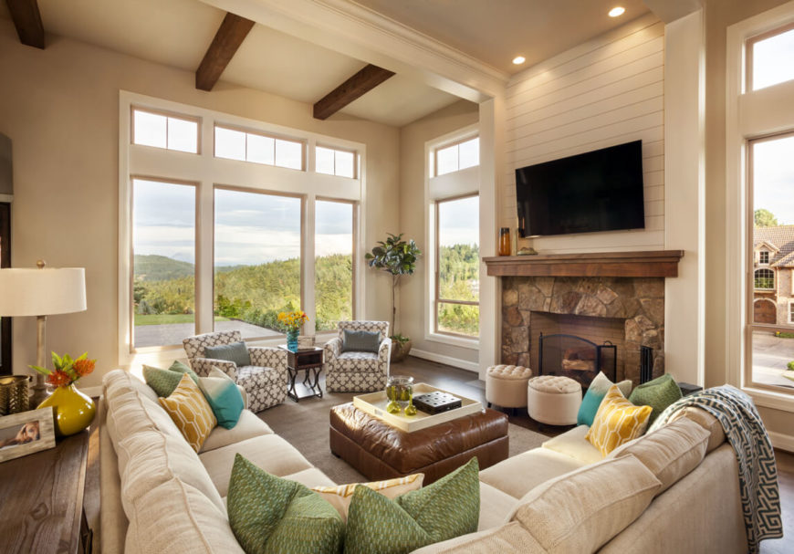 Family Room U2014 Kelly Scanlon Interior Design Decore I Adore 3 Custom American  Living Room Designs