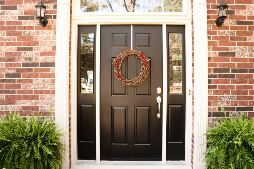 27 Pictures Of Black Front Doors (Front Entry