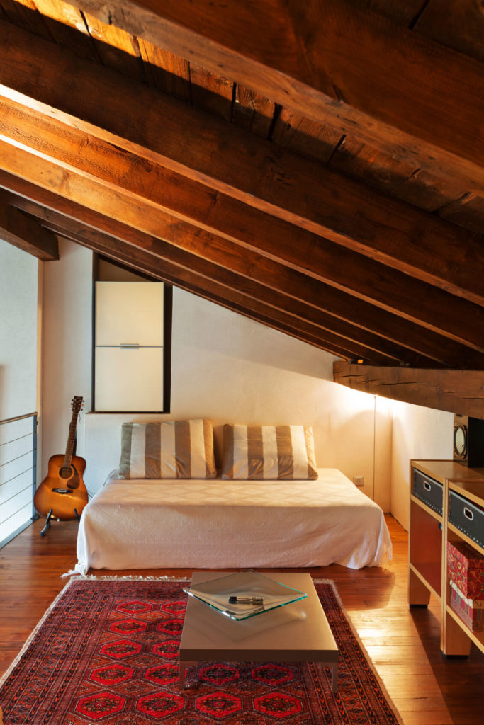 Attic Bed 18 attic rooms, designs and space ideas
