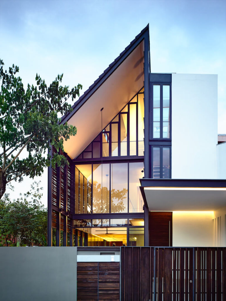 Terrace House in Singapore