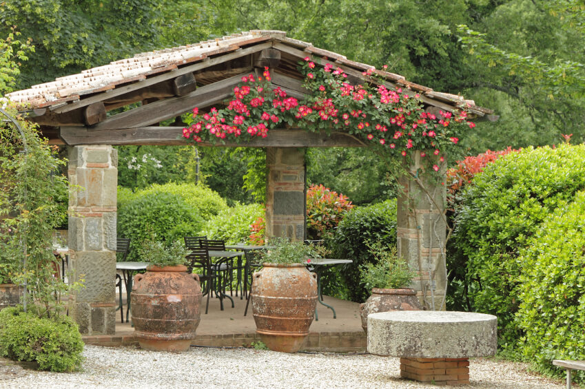 Covered Wood Shelters : Luxurious covered patio ideas pictures