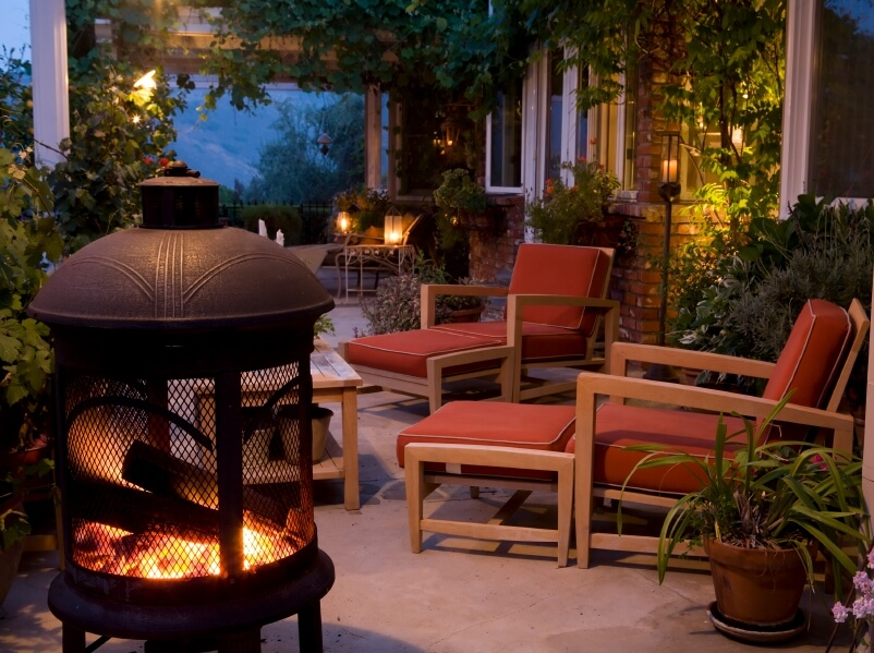 even small patios can be a great spot this patio is topped by a pergola - Backyard Covered Patio Ideas