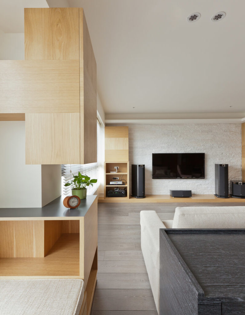 Minimalist Wood Lins House By PartiDesign