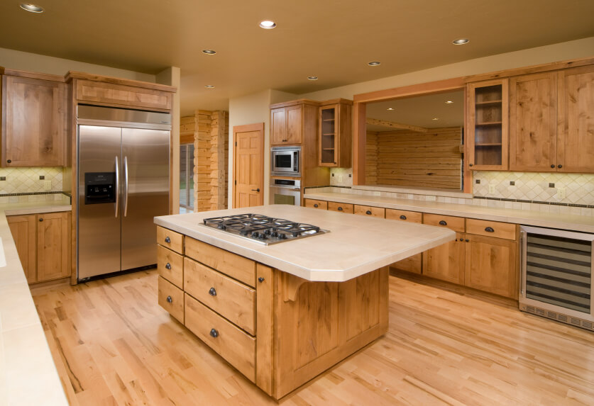 52 Enticing Kitchens With Light And Honey Wood Floors