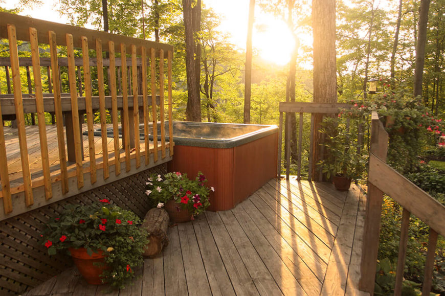 41 Backyard Sun Deck Design Ideas (Pictures) - Home ... on Tiered Patio Ideas id=86459