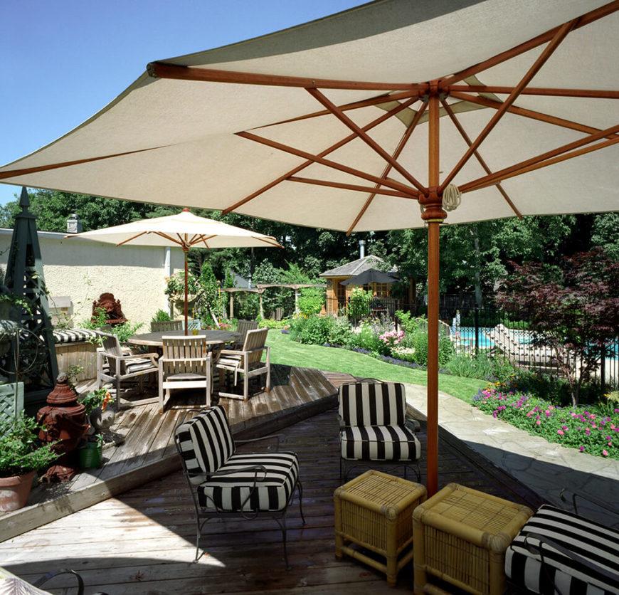 27 Awesome Sun Deck Designs: 41 Backyard Sun Deck Design Ideas (Pictures)