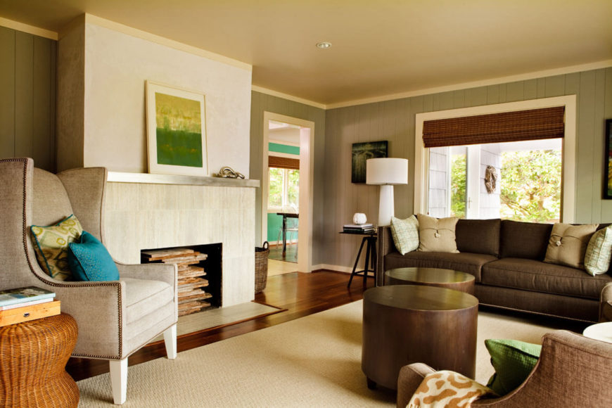 Welcoming SeaHound Ranch Beach House By Garrison Hullinger Interior - Ranch style table
