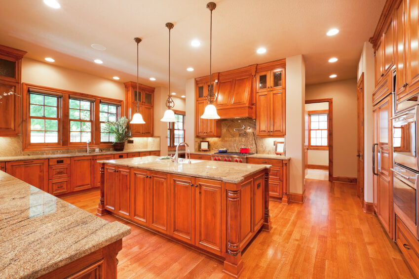 Matching Light Hardwood In House To Kitchen Floors