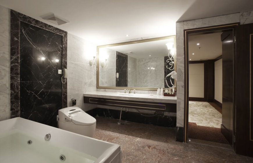 Dark Floor Bathroom Hd Gallery Part 56