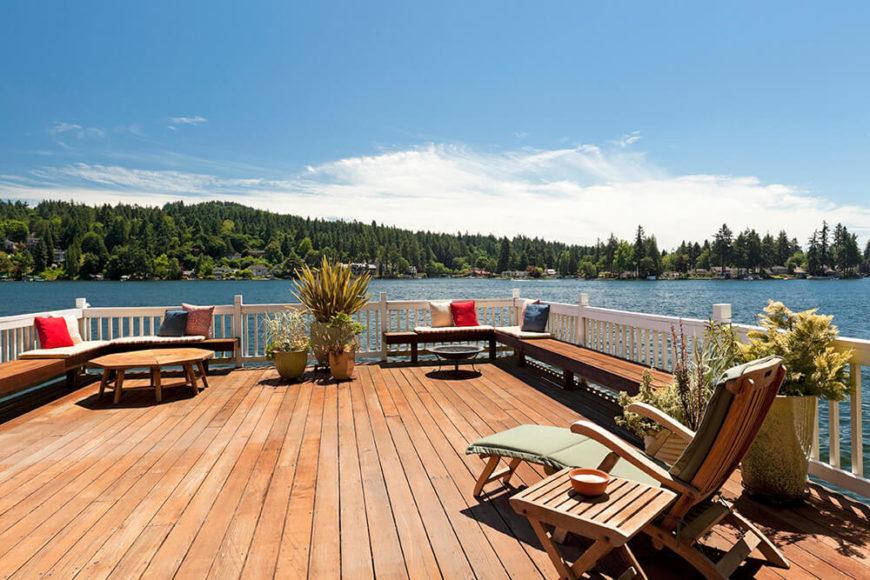 41 Backyard Sun Deck Design Ideas (Pictures)